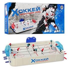 Хоккей настольный на штангах Joy Toy 0704, 69х40 см