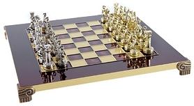 Шахматы Manopoulos «Греко-римская война», 28х28 см (S3RED)