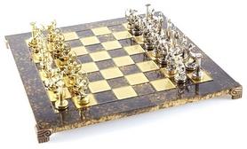 Шахматы Manopoulos «Геркулес», 36х36 см (S5BRO)