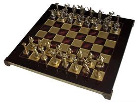 Шахматы Manopoulos «Греческая мифология», 36х36 см (S5RED)