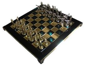 Шахматы Manopoulos «Геркулес и Полубоги Олимпа» - зеленые, 36х36 см (S7GREEN)