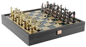 Шахматы Manopoulos «Греческая мифология» - зеленые, 34х34 см (SK4AGRE)