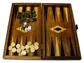 Набор 2 в 1 (шахматы, нарды) Manopoulos TS1MBLA, 30х27 см