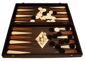 Набор для игры в нарды Manopoulos TXL1KE - коричневый, 48х25 см