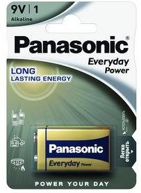 Батарейка Panasonic EveryDay Power LR61 BLI Alkaline (6LR61REE/1BR)