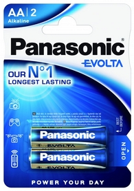 Батарейки Panasonic Evolta C BLI Alkaline, 2 шт (LR14EGE/2BP)