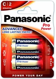 Батарейки Panasonic Pro Power C BLI Alkaline, 2 шт (LR14XEG/2BP)