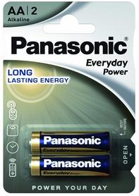 Батарейки Panasonic EveryDay Power AA BLI Alkaline, 2 шт (LR6REE/2BR)