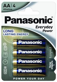 Батарейка Panasonic EveryDay Power AA BLI Alkaline, 4 шт (LR6REE/4BR)