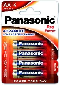 Батарейки Panasonic Pro Power AA BLI Alkaline, 4 шт (LR6XEG/4BP)