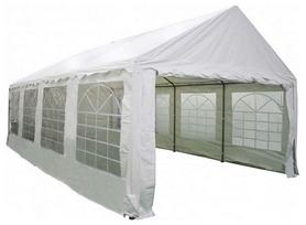 Павильон садовый Eco ТЕ-1818 - белый, 4х8 м (4820211100353)