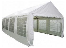 Павильон садовый Eco ТЕ-1817 - белый, 5х8 м (4820211100360)