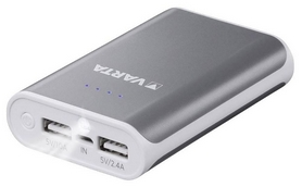 Устройство зарядное, портативное Varta 6000 mAh (57960101401)
