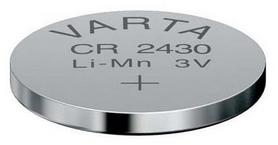 Батарейка Varta CR 2430 Bli 1 Lithium (06430101401)