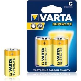 Батарейки Varta Superlife C Bli 2 Zinc-Carbon (02014101412)