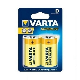Батарейки Varta Superlife D Bli 2 Zinc-Carbon (02020101412)