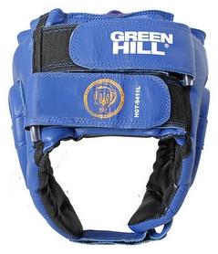 Шлем боксерский с печатью ФБУ Green Hill UBF, синий (HGT-9411L) - Фото №3