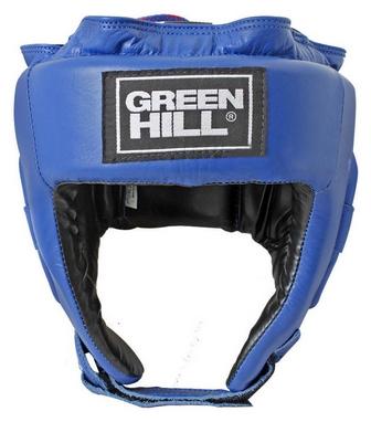 Шлем боксерский с печатью ФБУ Green Hill UBF, синий (HGT-9411L)