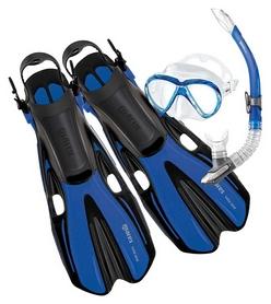 Набор для плавания Mares Volo One Marea (маска, трубка, ласты), синий (410774/BL)