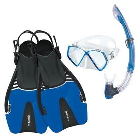 Набор для плавания детский Mares Coral Pirate (маска, трубка, ласты), синий (410790/BL)