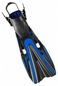 Ласты с открытой пяткой Mares Volo Power, синие (410008/BL)