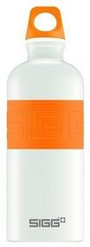 Бутылка для воды Sigg CYD Pure White Touch – оранжевая, 0,6 л (8540.90)