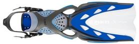 Ласты с открытой пяткой Mares X-Stream, синие (410019/BL)