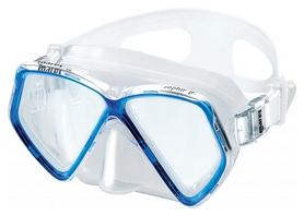 Маска для плавания детская Mares Zephir, синяя (411324/BL.CL)