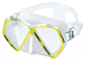 Маска для плавания детская Mares Zephir, желтая (411324/YL.CL)
