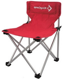 Стул складной KingCamp Compact Chair M, красный (KC3802_RD)