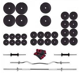 Набор Fit-On штанга и гантели, 170 кг (HD-002376)