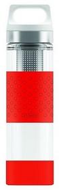 Термофляга Sigg H&C Glass WMB - красная, 0,4 л (8555.90)