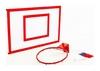Щит баскетбольный металлический с кольцом и сеткой Newt Jordan, 1000х670 мм (NE-MBAS-2-400G) - Фото №2