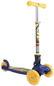 Самокат детский трехколесный складной Kiddimoto Valentino Rossi U-Zoom, синий (SKB-48-83)