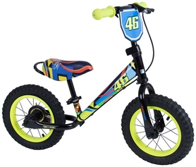 "Беговел детский Kiddimoto Super Junior Max Valentino Rossi - 12"", желтый (SKD-78-95)"