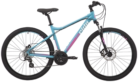 "Велосипед горный Pride Stella 7.2 2018 - 27,5"", рама – S, бирюзовый (SKD-58-73)"