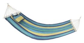 Гамак одноместный Spokey Bigrest, синий (BIGREST blue/yellow)