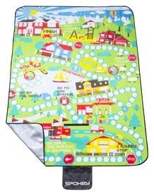 Коврик для пикника Spokey Picnic Blanket Boardgame, зеленый (837158)