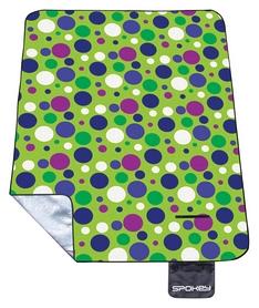 Коврик для пикника Spokey Picnic Blanket Circle, зеленый (832827)