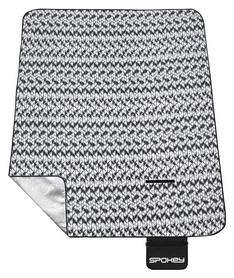 Коврик для пикника Spokey Picnic Blanket Etno, черный (922272)