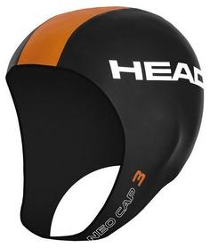 Шапка для триатлона неопреновая Head Neo Cap - черно-золотая (455116 GO)