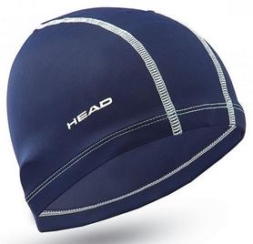 Шапочка для плавания детская Head Polyester Jr Cap, синяя (455125.NV)