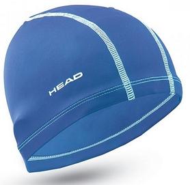 Шапочка для плавания детская Head Polyester Jr Cap, голубая (455125.RY)