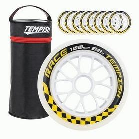 Колеса для роликов Tempish Race 88A, 100x24 мм (10100004139)
