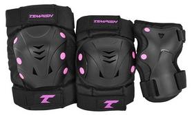 Защита для катания (комплект) Tempish Taky - розовый (102000070)