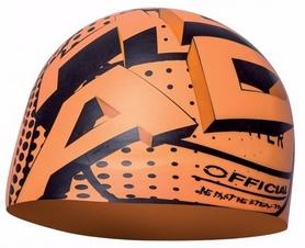 Шапочка для плавания Head Silicone Sketch, оранжевая (455180.OR  WPOL)