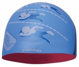 Шапочка для плавания Head Silicone Sketch, голубая (455180.RDBLROAD)