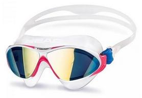 Очки для плаванья Head Racer TRP, бело-розовые (451051/CLWMGBL)