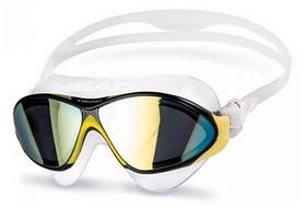 Очки для плаванья Head Racer TRP, желто-черные (451051/CLYLKSMK)