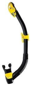 Трубка для дайвинга Mares Rebel Dry, желтая (411487.BKYLSA)